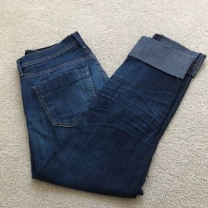 Citizens jeans Dani cropped straight leg size 26